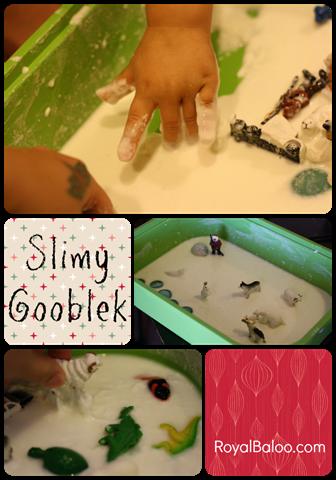 Slimy Gooblek–Sensory Play Party