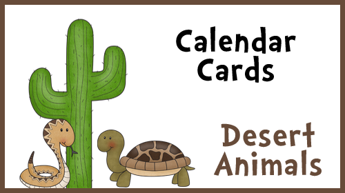 January and February Calendar Cards