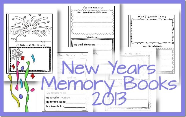 New Years Memory Book 2013