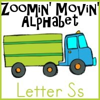 Ss is for Semi Truck–Zoomin Moving ABCs