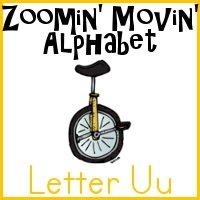 Uu is for Unicycle