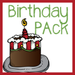 Free Birthday Pack–K-2nd