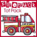 Fire Truck Tot Pack