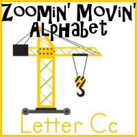 Cc is for Crane–Zoomin Moving ABCs