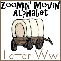 Ww is for Wagon–Zoomin Moving ABCs