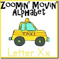 Xx is for Taxi–Zoomin Moving ABCs