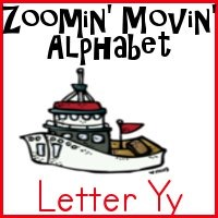 Yy is for Yacht–Zoomin Moving ABCs