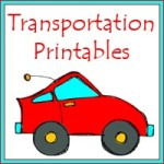 Free Transportation PreK Pack