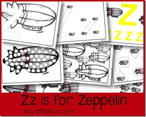 Zz is for Zeppelin - Zoomin Moving ABCs