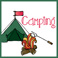 Free Camping Calendar Cards and Notebooks