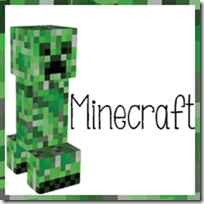 Minecraft Calendar Cards and Calendar Notebook Pages