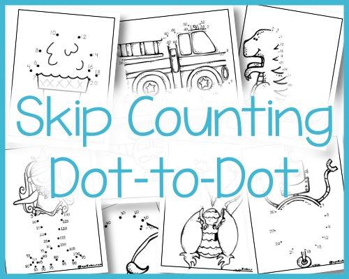 Skip Counting Dot to Dot - Royal Baloo
