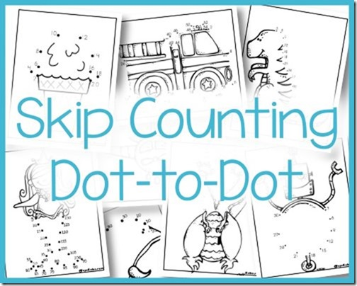 Skip Counting Dot To Dot
