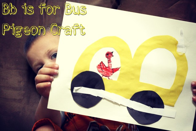 Don't Let the Pigeon Drive the Bus Letter Craft