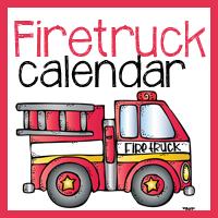 Fireman/Fire truck Calendar Cards and Notebook
