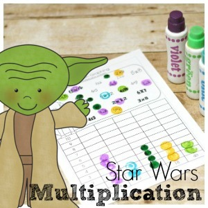 Star Wars Multiplication Pack - Practice multiplication with a fun and exciting star wars theme! Free printables to get them engaged with multiplication!