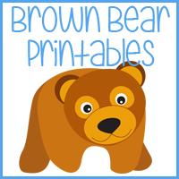 Free Brown Bear, Brown Bear Calendar Cards