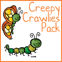 Creepy Crawlies Pack – Free!