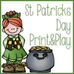 Free St Patricks Day Print & Play Kindergarten through 2nd Grade