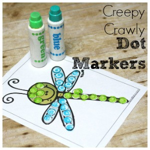 dragonfly dot marker page