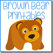 brown bear brown bear printable prek pack royal baloo