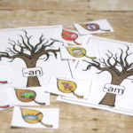 Fall CVC Matching Free Printable