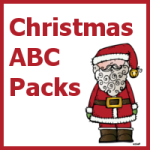 Christmas ABC Printables