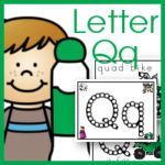 Dot Marker ABCs Letter Qq for Quilt