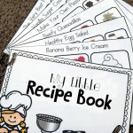 My First Recipe Book – Printable for Charity