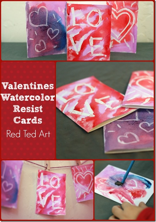 ValentinesWatercolorResistCards