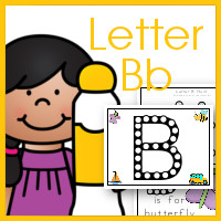 Do A Dot Letter Bb Printables