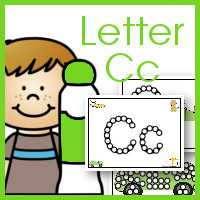 Do a Dot ABC's: Letter Cc