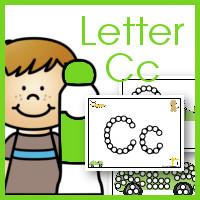 Do a Dot ABC's: Letter Cc