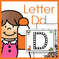 Do a Dot Letter Dd