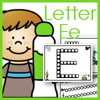 Do a Dot Letter Ee Printables