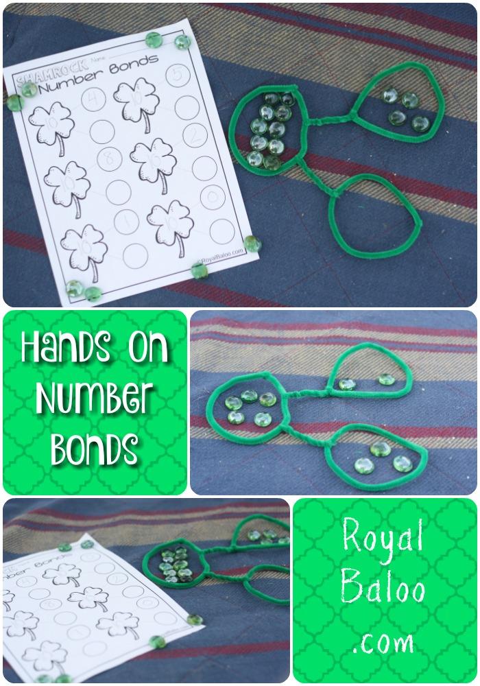 Hands On Number Bonds for St Patricks Day