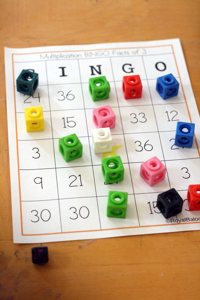 photograph regarding Multiplication Bingo Printable referred to as Multiplication BINGO - Royal Baloo