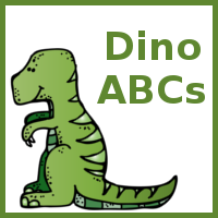 Dinosaur ABC Matching Activity