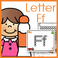 Do a Dot Letter Ff