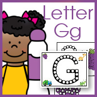 Do A Dot Letter Gg Free Printables