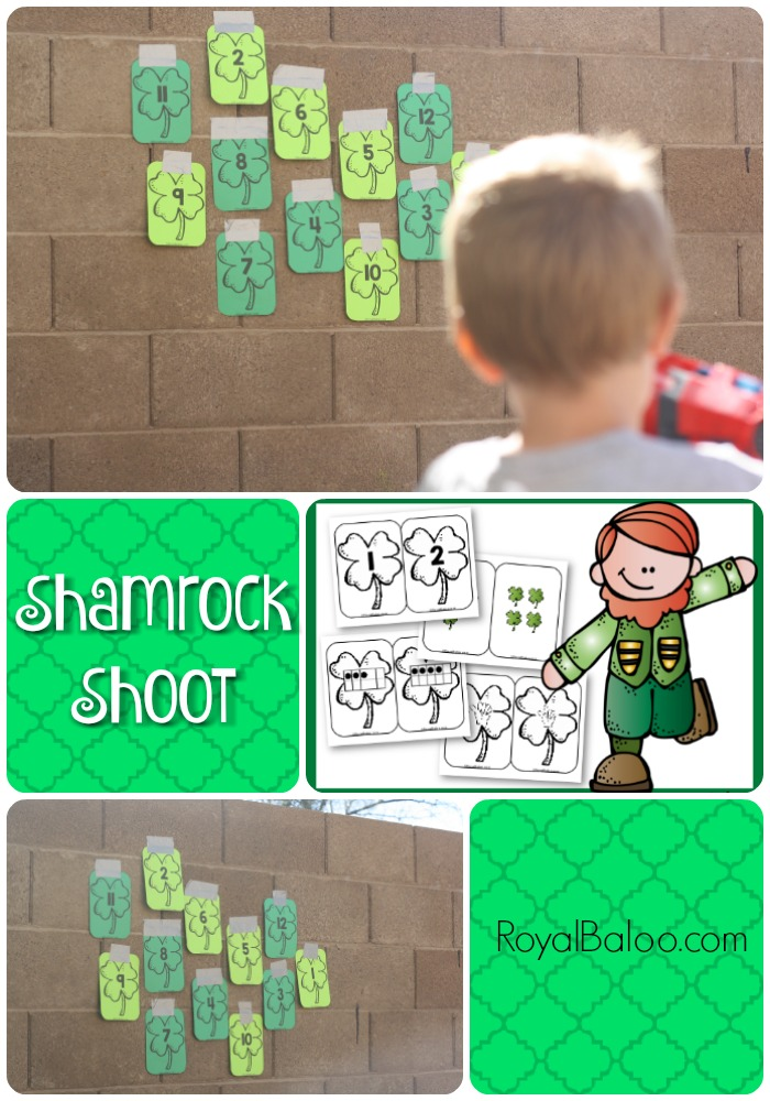 Shamrock Shoot - Practice number sense, addition, and multiplication! Just do the math and shoot the right target!