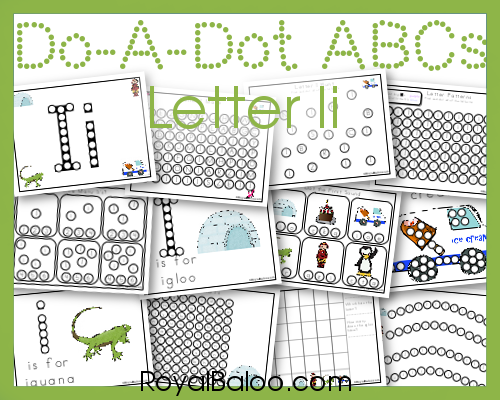 Free Do a Dot Letter Ii Printables