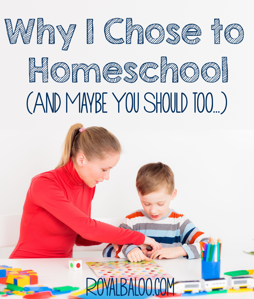Why I chose to Homeschool and maybe you should too. A few realistic and simple homeschooling tips.