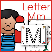 Letter Mm Do a Dot Printables