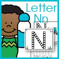 Letter Nn Do a Dot Printables