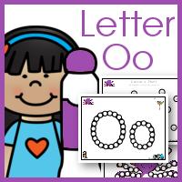 Do a Dot ABCs Letter Oo