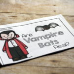 Vampire Bat Emergent Reader for first and second grades.  Free!