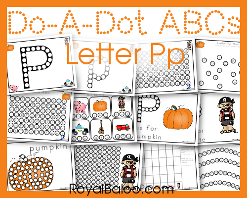 Practice your letters with fun Dot Marker Pages!