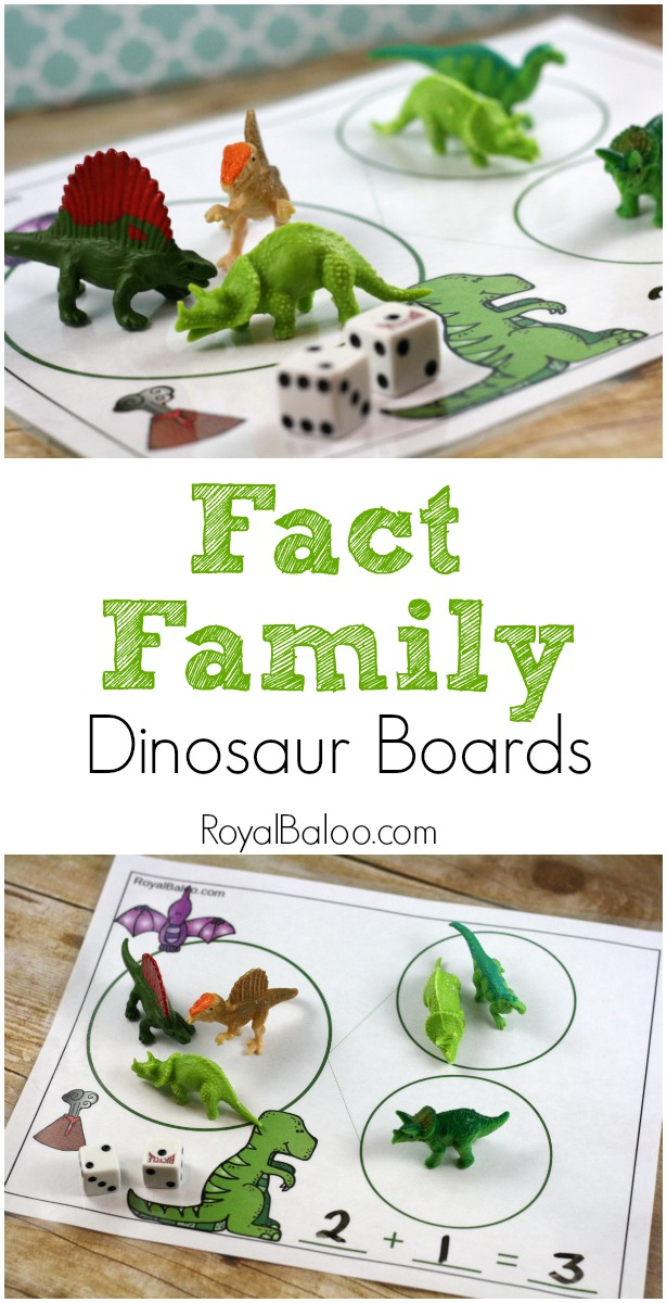 Fact Family Themed Mats