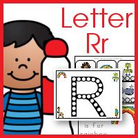Free Dot Marker ABCs Printable Letter Rr